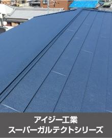 アイジー工業スーパーガルテクトシリーズの屋根