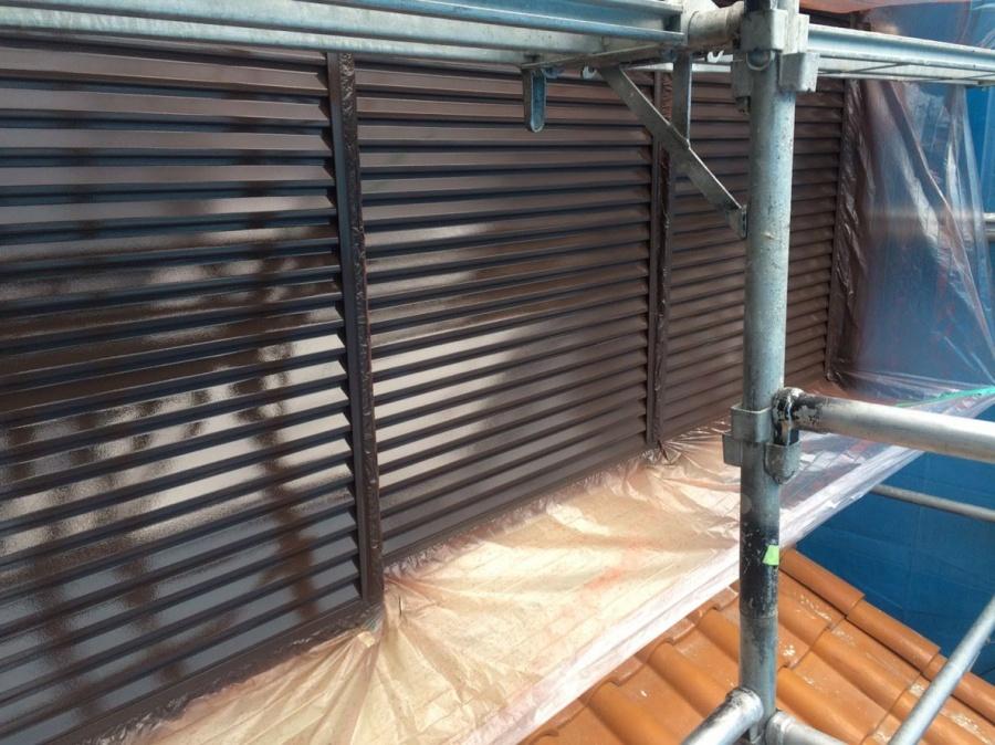 雨戸塗装完了