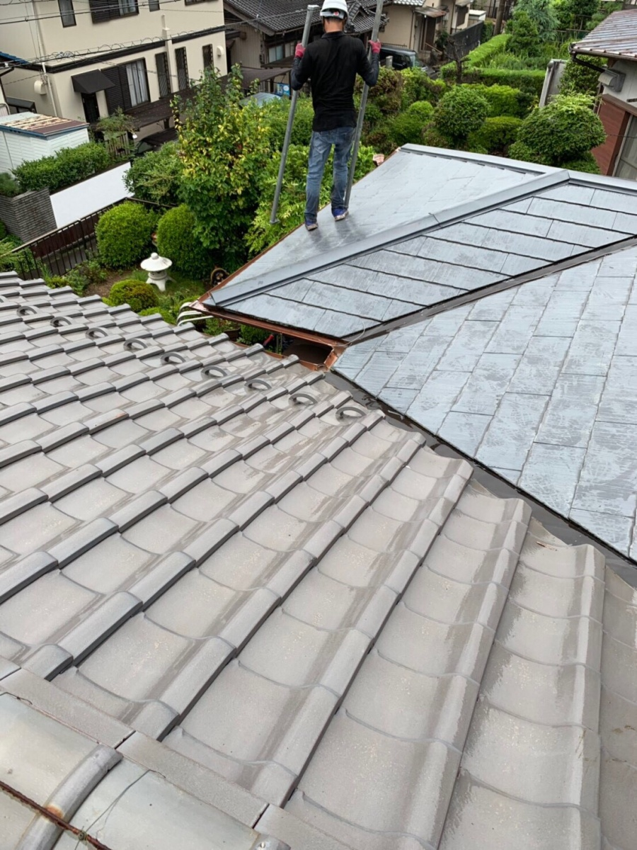 岐阜県 各務原市 屋根葺き替え 金属屋根 ガルバリウム鋼板