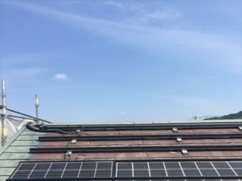 太陽光パネル外し作業