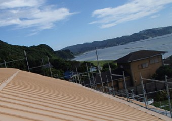 錆に強く海沿いに適したガルバリウム鋼板